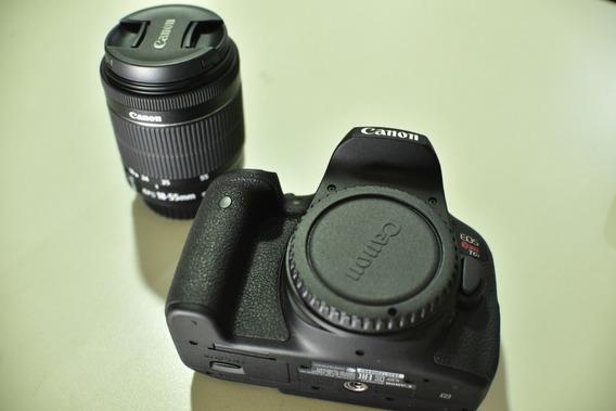Câmera Cânon Eos Rebel T6i