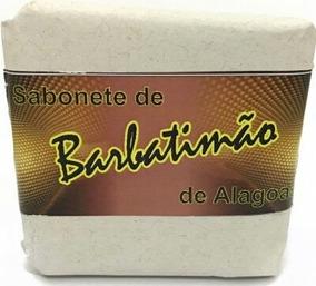 Sabonete Barbatimão Alagoas 10 Unidades Com Fibras Naturais