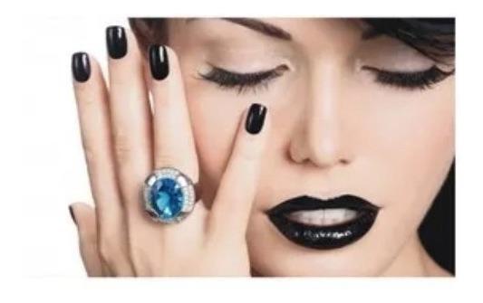 Adesivo Decoração De Parede Salão De Beleza Maquiagem Unhas
