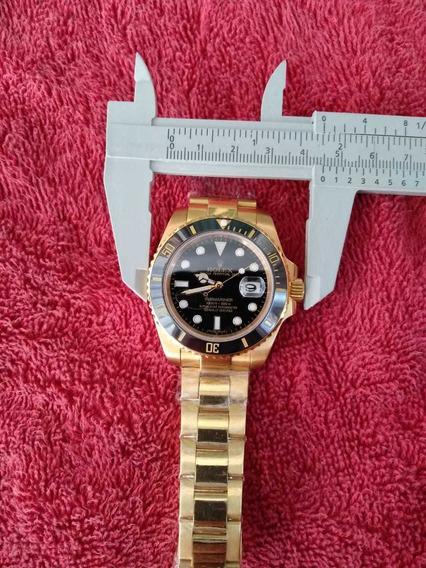 Relógio Automático Sub Gold Black