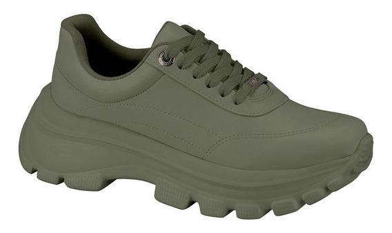 Tênis Vizzano Verde Militar Chunky 10042144861