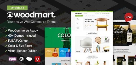 Woodmart - Responsive Woocommerce Wordpress Theme Original