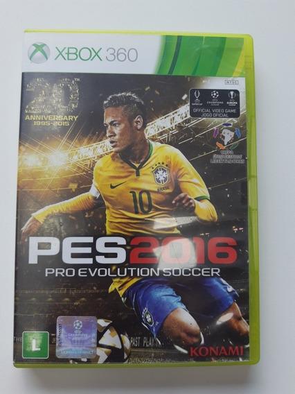 Pes 2016 Português Mídia Física Xbox 360