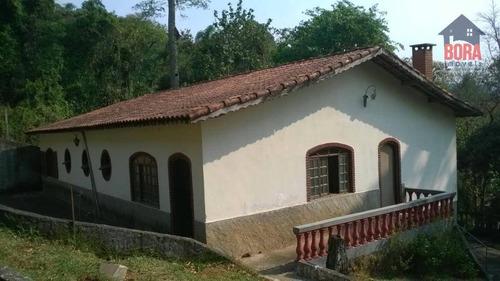 Chácara Com 3 Dormitórios À Venda, 1550 M² Por R$ 780.000 - Chácaras Santa Fé - Mairiporã/sp - Ch0222