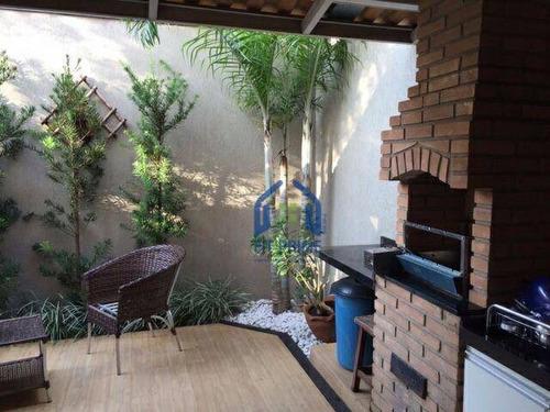 Casa Com 3 Dormitórios À Venda, 94 M² Por R$ 510.000,00 - Jardim Tarraf Ii - São José Do Rio Preto/sp - Ca0019