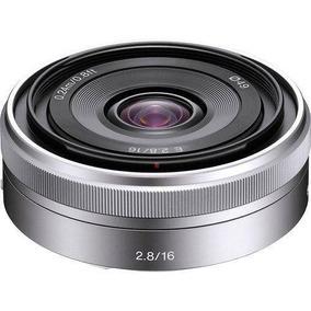 Lente Sony E 16mm F/2.8