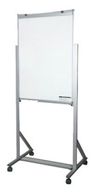 Cavalete Flip-chart De Alumínio Com Rodízio Board Net