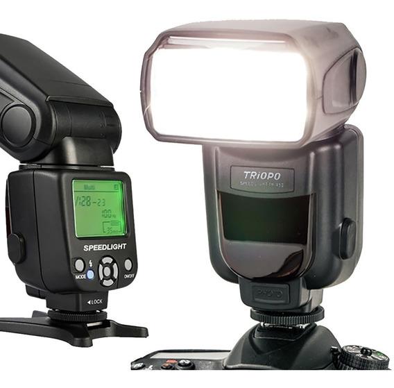 Flash Canon Triopo Tr950 600 T6 T7i 600ex Nãoé Yongnuo Ex