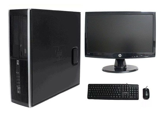 Computador Hp Elite 8200 I5 8gb 500gb Monitor 18,5 Polegadas