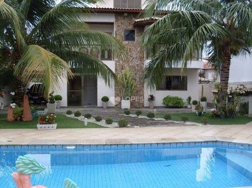 Imagem 1 de 15 de Casa Com 3 Quartos, 209 M² Por R$ 2.600.000 - Camboinhas - Niterói/rj - Ca16672