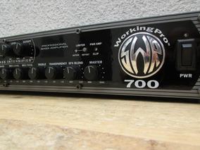 Cabeçote Amplificador Swr Workingpro 700 Excelente!!!