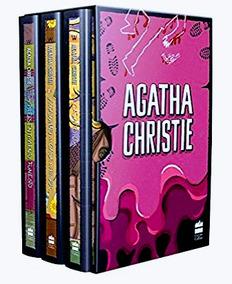 Livro Box Coleção Agatha Christie - Caixa 7 - Capa Dura Luxo