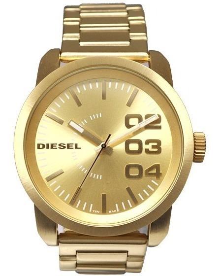 Relógio Diesel Gold Dz1466 - Original Com Certificado
