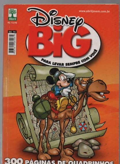0863 Disney Big - Para Levar Sempre Junto Com Você - Nº 14