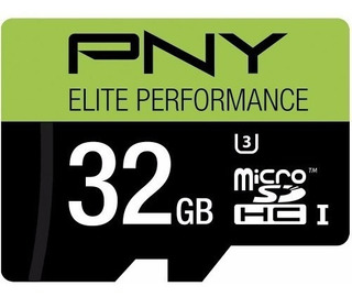 Pny 32gb Microsdhc Class 10 Uhs-i Ideal Gopro 4k 95mb/s