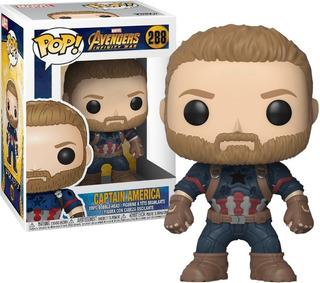 Funko Pop Captain America #288 Avengers Infinity War Capitan