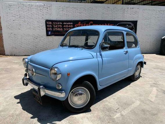 Fiat 600 D 1957 Italiano Clásico De Colección