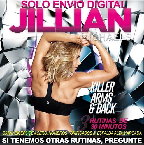 Jillian Michaels Brazos Y Espalda Asesinas Sin Pesas Fitness