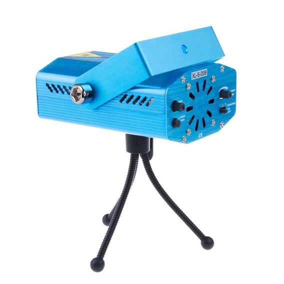 Mini Proyector Laser Led Audio Rítmico Decorativo
