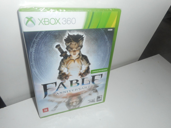 Fable Anniversary Xbox 360 Mídia Física Novo Lacrado