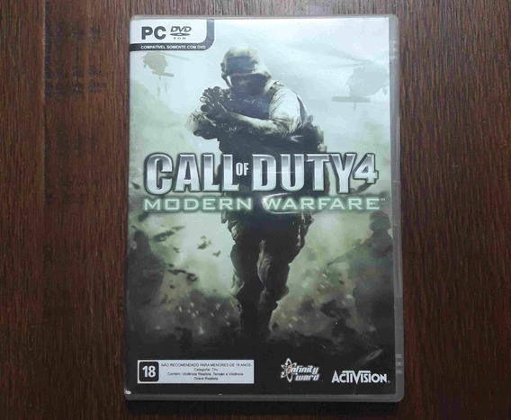 Call Of Duty 4: Modern Warfare Pc Original Completo