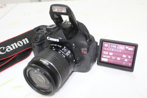 Canon T3i +lente 18-55mm Ótima P/ Youtuber. Desconto À Vista