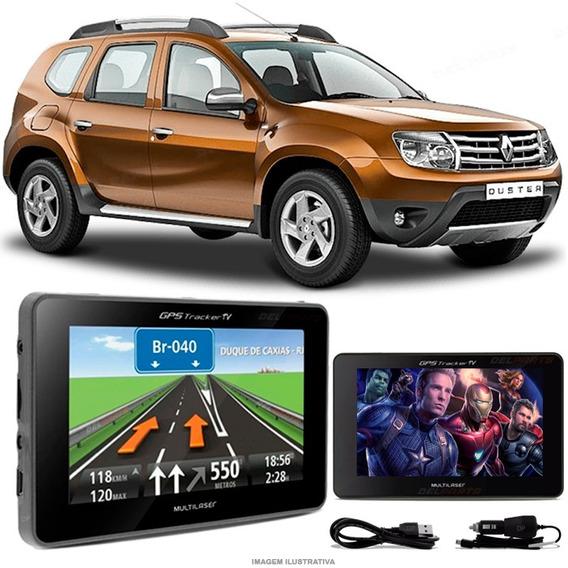 Gps Automotivo Duster Top Tela 4.3 Voz Tv Digital Fm Oferta