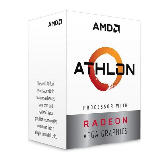 Processador Amd Athlon 200ge 3.2ghz Am4 Radeon Vega 3 Com Nf