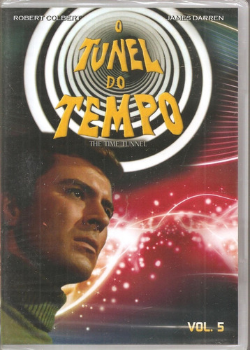 Dvd O Túnel Do Tempo Vol. 5 - Robert Colbert, James Darren
