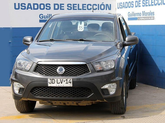 Ssangyong Kyron New Actyon Sport 4x2 Mt Nas 2017
