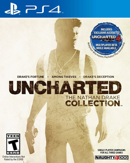 Uncharted The Nathan Drake Collection Ps4 Digital Gcp