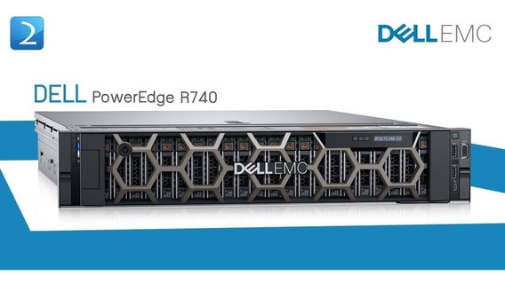 Servidor Dell Emc Poweredge R740 10cores 32gb 2x 1.2tb Sas