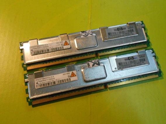 Memoria Qimonda Pc2-5300 2gb (2 X 1gb) Ecc Server