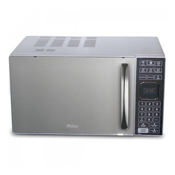 Microondas Philco PME25 prata 25L 110V
