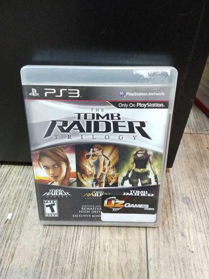 Tomb Raider Trilogy Ps3 (frete 18 Reais)