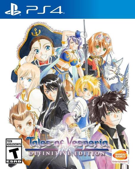 Tales Of Vesperia: Definitive Edition - Ps4 Lacrado
