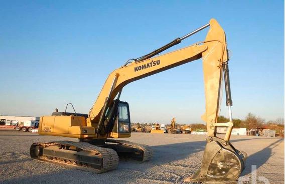 Excavadora Komatsu Pc200 Barata Caterpullar 320 Funcionando
