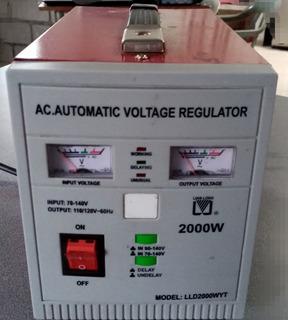 Regulador De Voltaje 2000w
