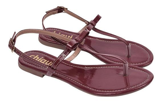 Sandália Sapato Feminina Chiquiteira Chiqui/53130