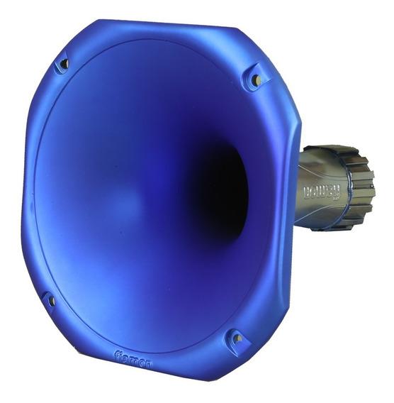Corneta Redonda Fiamon Lc-1450, Média, Plástica, Azul Fosca