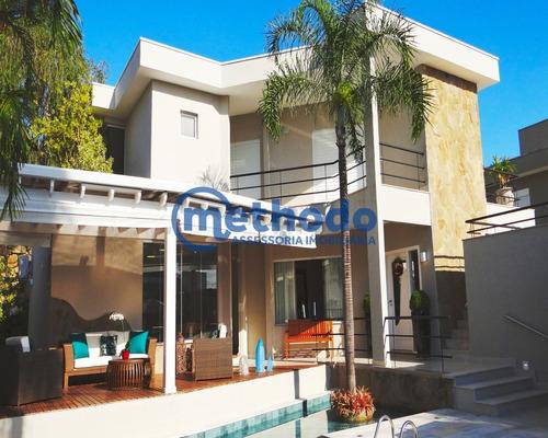 Casa A Venda Alphaville Campinas - Ca00133 - 68381027