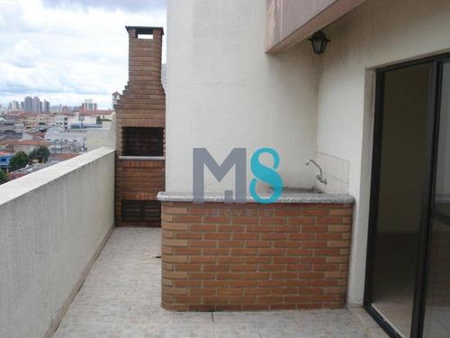 Imagem 1 de 30 de Apartamento Duplex Com 3 Dormitórios À Venda, 154 M² Por R$ 650.000,00 - Sacomã - São Paulo/sp - Ad0005
