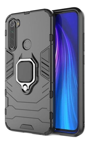 Funda Xiaomi Redmi Note 8 Uso Rudo Magnetic + Vidrio + Envío