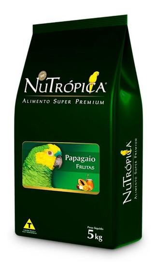 Ração Super Premium Nutrópica Com Frutas Para Papagaio 5kg