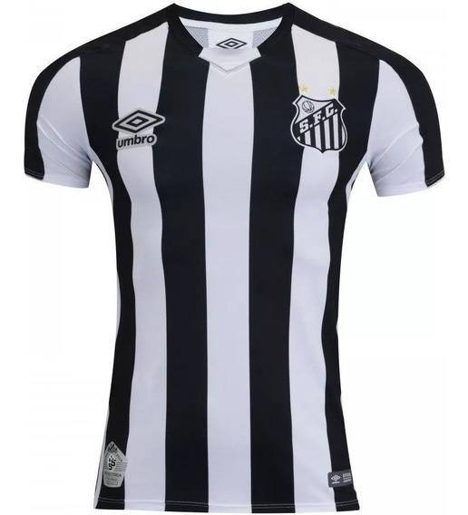 Camisa Nova Santos Home Umbro Oficial Blusa 2019 +meia Brind