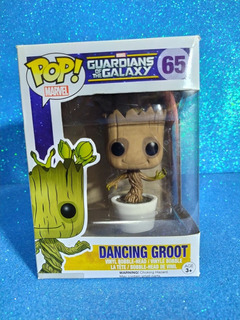 Funko Pop Dancing Groot #65 Original (vaulted)