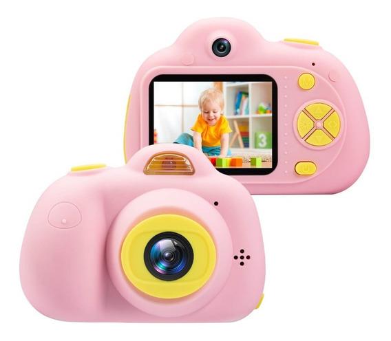 Camera Kid Infantil Para Criança Interação E Lazer + Sd 16gb