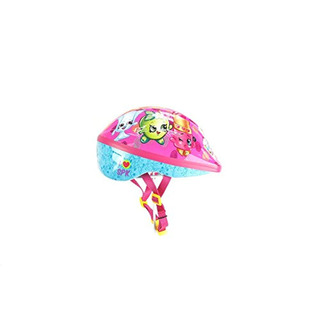 Shopkins Casco De Bicicleta 2d, Multicolor