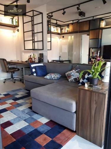 Apartamento Com 1 Dormitório À Venda, 43 M² - Bela Vista - São Paulo/sp - Ap31684