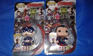 Muñecos Tipo Funko Pop Super Héroes